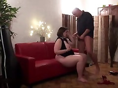 Claire Barre house sex movies fucks two strangers