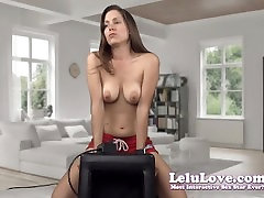 Lelu Love-Two Sybian Orgasms During Webcam Show