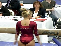 My Favorite PAWG Gymnast Wow!!!