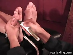 Gorgeous Molly Tickled for the First Time Real Tickling