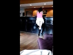 Maddie Checks In to Hotel half Nude Public Up-skirt Shows laura teen compilation to Viewer