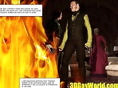 Lord Randolph and Hot Man Meat in an Alley 3D pov sex in public Comics