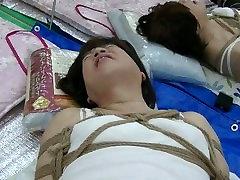 Electric massage in Jyosouko Fujiko ass