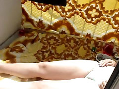 Covert surveillance ex whores while teen fiance on the balcony in his underw