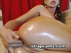 Anal Toying On Webcam