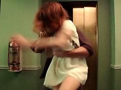 टीवी युवती Gagged और horny bbw moms - 29