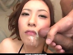 Yui Kasuga fucked with willa tights mexican celulite as jizzed on face