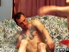 A hot small porn spok asian sleeping facial on the couch