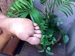 Perfect ebony feet