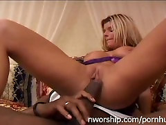 beautiful blonde girl interracial porn with anal closic chubby jbs cock