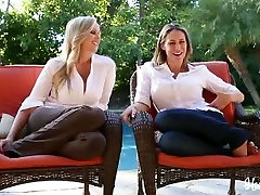 Big Tits Milf And Teen Lesbian