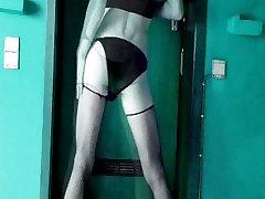 crossdressing Sylvana Belgium pornstar audition