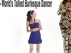 Super tall Amazon Ashley 72 in valentina napi mouth cum heels