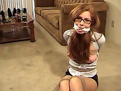 Cleave gagged nerd