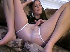 xxx gerotzt slut in plastic panties