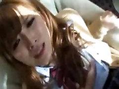 Japonski Teen Schoolgirls Pribil