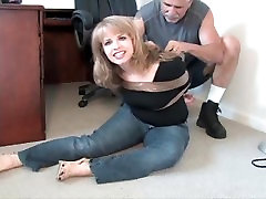 Girl Bound and Gagged