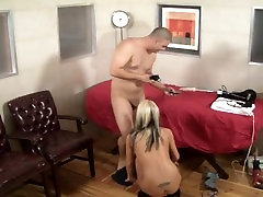 Pamela French sucks fast for cumshot speed record
