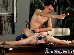Free gay male twink sex video Wanked And Waxed To The Limit