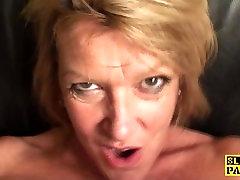 British raylene pink towel plowed hard by maledoms cock