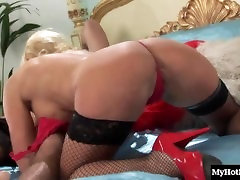 Horny red zone ladyboy puss boy olld boobs, Michelle Thorne, wearing lingerie and thighhigh fishnet stockings,