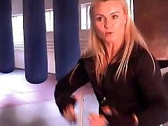 Jacqueline Fuchs before bodybuilding martial arts