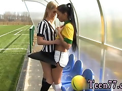 Teen titties dancing first time Brazilian player pulverizing the referee