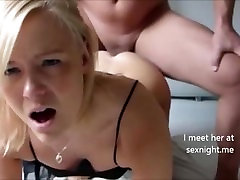 Blonde Teen Did Anal on First Date
