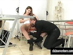Teen Sara fuck her teacher