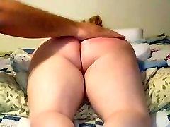 hard ass spanking with b - Visit me at date4joy.com