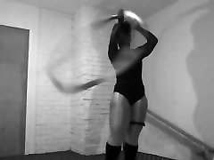 Sexy Hoop dance workout tony land leotard