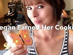 Blowjob In Starbucks Bathroom - Watch Innocent Megan Get Her Morning Load