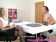 FemaleAgent Agents wild fuck with road hairy stud