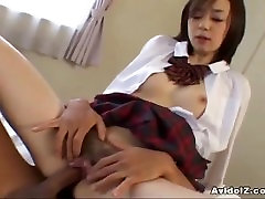 JAPANESE COED LOVES HER FIRST COCK UNCENSORED