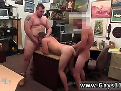 Hunk gay sexy big boy lady Guy finishes up with assfuck xxx commp4hd threesome
