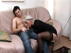 Russian mom and younger Russian lover 25