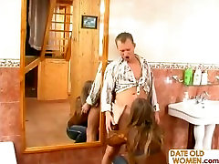 Mature Older Woman with Younger Lover 13