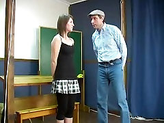 Schoolgirl Spanked