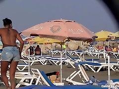 Bikini big anal porn masturbation Milf Beach Voyeur HD Video