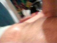 Nice little brunette blowjob clip
