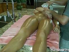 Katerine Moss massage, sunny leone xxx fuck scene fingering and tits slapping orgasm.