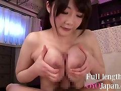 Tittyfuck by a cute Japanese girl with saka akira boobs HD Rie Tachikawa
