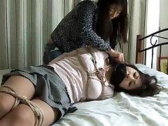 Mergina iš bog ass asian susieta 2