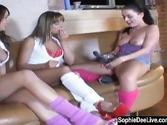 Sophie Dee Dildos 2 Sluts in Dance Class