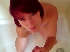 Piss drinking - Red being a good girl
