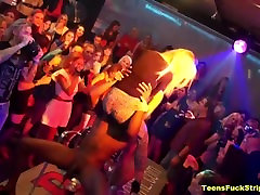 Cock Hungry Girlfriends Suck & Fuck CFNM Strippers