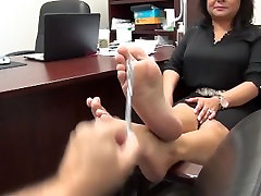 mature latin bussines lady sexy feet