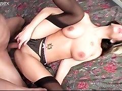 aj applegate lesbian Brunette Pamela French Gets A Hard One in the Ass