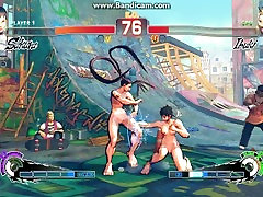 Loli Street Fighter Teens Fight: Street Fighter IV Mod Sakura 16 V Ibuki 16