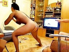 BDSM telesne vadbe z bičem stimulacijo in beljakovin kot nagrado